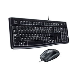 Tastiera e Mouse Ottico Logitech 920-002550 1000 dpi USB Nero