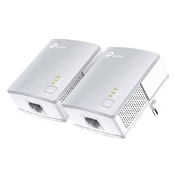 TP-LINK PA411KIT 500 Mbit/s Collegamento ethernet LAN Bianco 2 pezzo(i) TL-PA411KIT