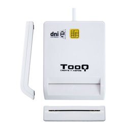 Lettore di Schede Intelligenti TooQ TQR-210W USB 2.0 Bianco