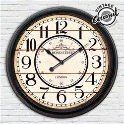 Reloj de Pared Estación London Vintage Coconut