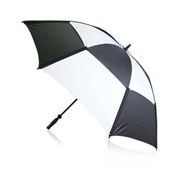 Ombrello da Golf (Ø 135 cm) 144393 Nero/Bianco