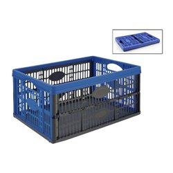 Scatola Multiuso Tontarelli Voilà 32 L Pieghevole Plastica (47,5 x 35 x 23,6 cm) Azzurro