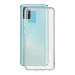 Custodia per Cellulare con Bordo TPU Samsung Galaxy A71 KSIX Flex