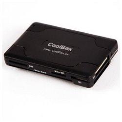 Lettore di Schede Intelligenti CoolBox CRE-065 USB 2.0 Nero