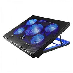 CoolBox COO-NCP17-5BL notebook cooling pad 43.2 cm (17) 2000 RPM Black