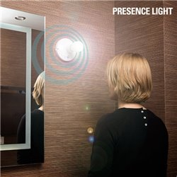 Portalampada con sensore di movimento Presence Light