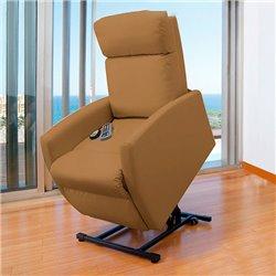 Poltrona Relax Massaggiante Alzapersone Cecotec Compact Camel 6006