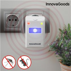 Repellente per Insetti e Roditori con LED InnovaGoods