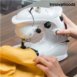 Macchina da Cucire Compatta InnovaGoods 6 V 1000 mA Bianco