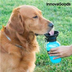Bottiglia Abbeveratoio per Acqua per Cani InnovaGoods