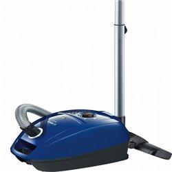 Aspirapolvere con Sacchetto BOSCH 222457 600W DualFiltration Azzurro