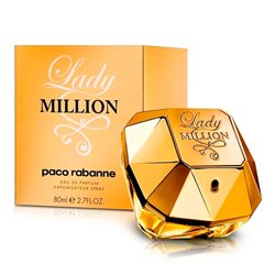"Damenparfum Lady Million Paco Rabanne EDP ""80 ml"""