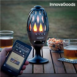 Lanterna LED con Altoparlante Bluetooth InnovaGoods