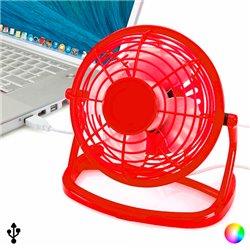 Mini Ventilatore con USB per Computer 144389 Giallo