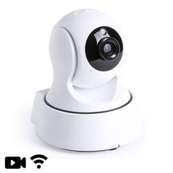 Videocamera di Sorveglianza 360º HD 145533 Bianco