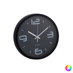 Wall Clock Analogue 143676 Red