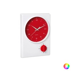Orologio da Parete con Timer 1 h 144290 Rosso
