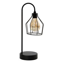 Lampada LED da Tavolo Nero 112031