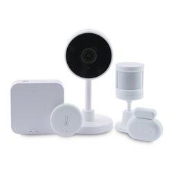 Kit di Elettronica per la Casa KSIX Smart Home Zigbee WiFi (5 pcs) Bianco
