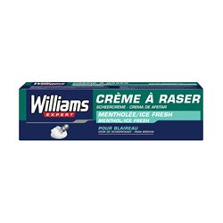 "Crème de rasage Ice Fresh Williams ""100 ml"""
