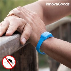 Pulseira Anti-Mosquitos de Citronela InnovaGoods Azul