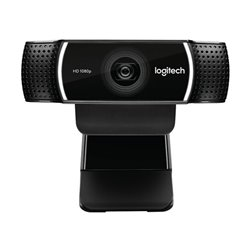 Webcam Logitech C922 HD 1080p Streaming Tripode Nero