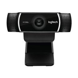 Webcam Logitech C922 HD 1080p Streaming Tripode Nero