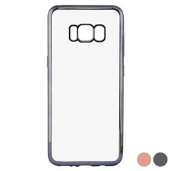 Custodia per Cellulare Galaxy S8+ Contact Flex Metal Grigio