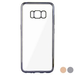 Custodia per Cellulare Galaxy S8 Contact Flex Metal Rosa