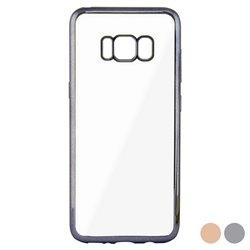 Custodia per Cellulare Galaxy S8 Contact Flex Metal Rosa