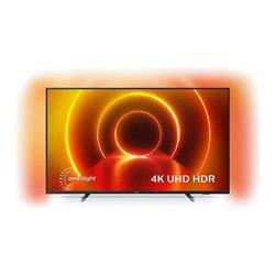 "Smart TV Philips 58PUS7805 58"" 4K Ultra HD LED WiFi Nero"