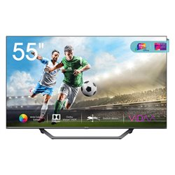 "Smart TV Hisense 55A7500F 55"" 4K Ultra HD DLED WiFi Grigio"
