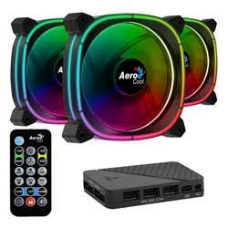 Ventilatore Aerocool Astro 12 Pro Ø 12 cm 1000 rpm RGB LED