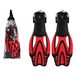 Pinne da Snorkel Rosso 119261 (Taglia 36-37)