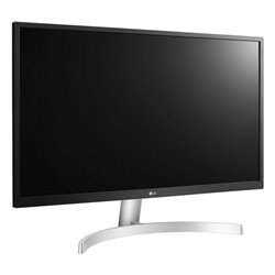 "Monitor LG 27UL500-W 27"" 4K Ultra HD IPS HDMI Nero Bianco"