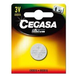 Batteria a Bottone a Litio Cegasa CR2016 3V