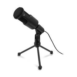 Ewent EW3552 microphone Microphone de PC Noir