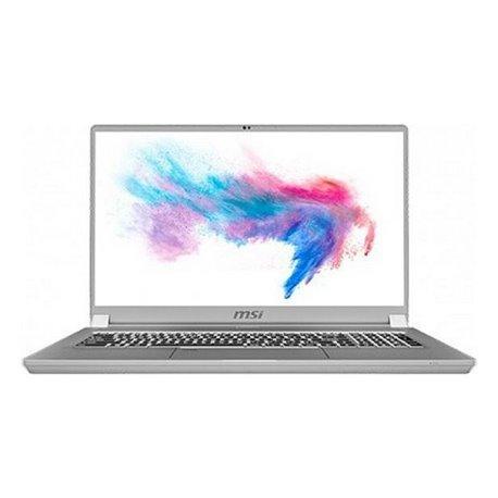"Notebook MSI Creator 17-204ES 17,3"" i7-10875H 32 GB RAM 1 TB SSD Argentato"
