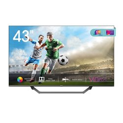 "Smart TV Hisense 43A7500F 43"" 4K Ultra HD LED WiFi Nero"