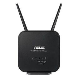 Router Senza Fili Asus 4G-N12-B1 4G LTE WiFi 300 Mbps Nero