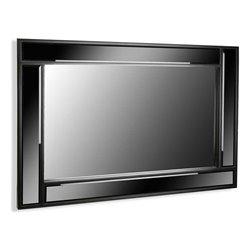 Specchio da parete TARENTO Legno (60 X 90 x 2 cm)
