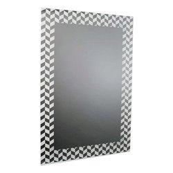 Specchio da parete Bianco (60 X 90 x 1 cm)