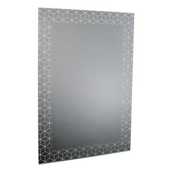 Specchio da parete Nero (60 X 90 x 1 cm)
