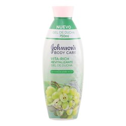 Johnson's Gel de Duche Revitalizante Uvas Vita-rich 11067