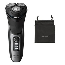 Rasoio Elettrico Ricaricabile Philips Wet&Dry S3231/52 Nero