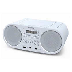 Radio CD Sony ZS-PS50 Bianco