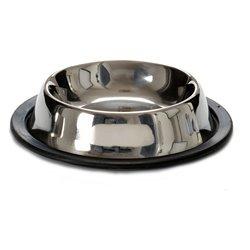 Mangeoir pour animaux Caoutchouc Acier Ø 30 cm