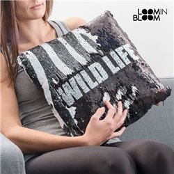 Wild Life Loom In Bloom Magic Sequins Mermaid Cushion