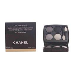 Palette di Ombretti Les 4 Ombres Chanel 202 - tissé camélia 2 g