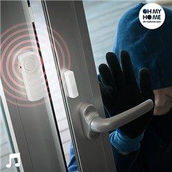 Alarme Sem Fios com Sensor de Contacto Oh My Home (Pack de 3)